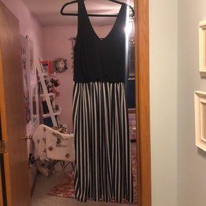 Striped easy to wear dress